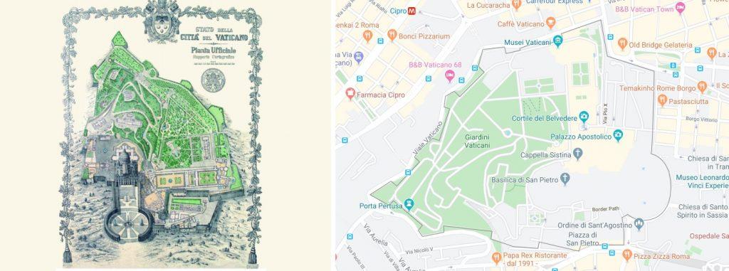 Vatikan Sınırları